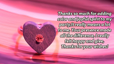 Top # 50+ Thank You for Birthday Wishes - Birthday Wishes Quotes