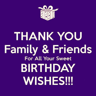 Thank You Birthday Quotes