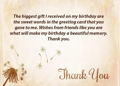 Top 50 thank you for birthday wishes birthday wishes quotes thank you message for birthday m4hsunfo