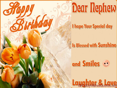 top 100 happy birthday nephew wishes quotes messages