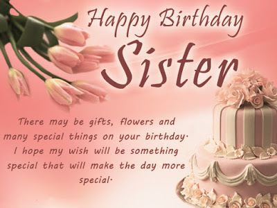Awesome Birthday Messages For Sister
